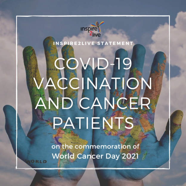 COVID-19 vaccination and cancer patient - Inspire2Live statement