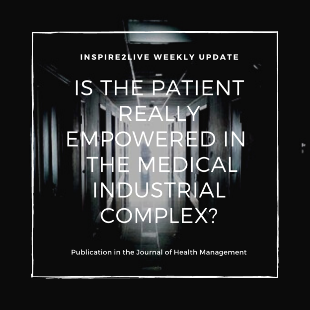 Is the patient really empowered in de Medical Industrial Complex