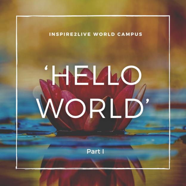 Hello World Part I