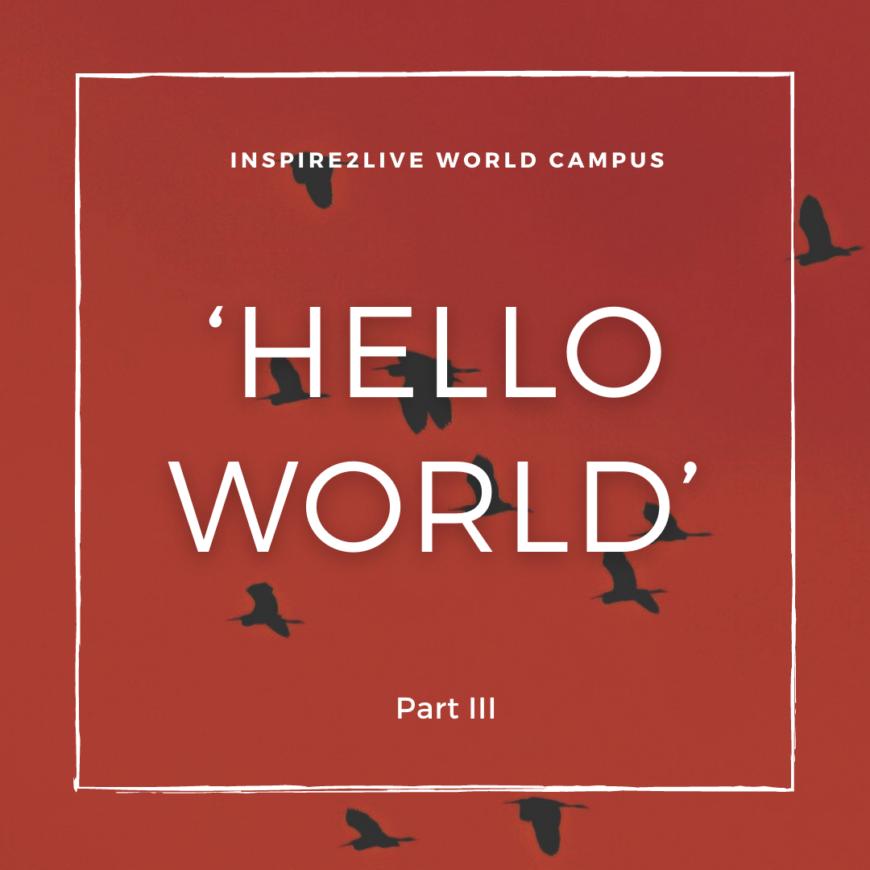 Hello World Part III