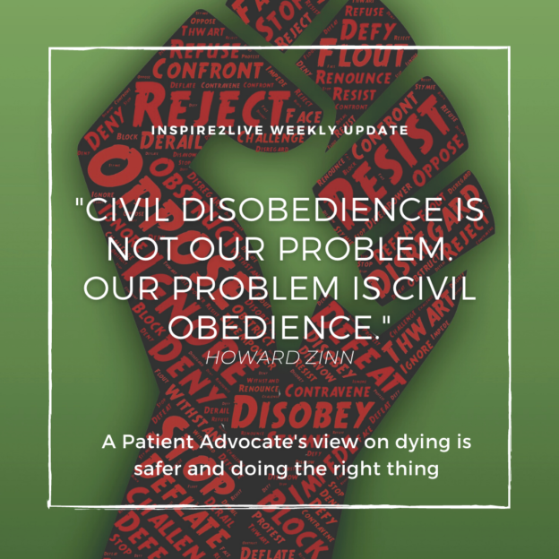 Civil disobedience is not our problem. Our problem is civil disobedience.