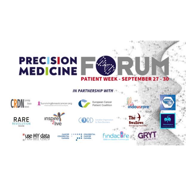 Precision Medicine Forum Patient Week 27 to 30 September 2021