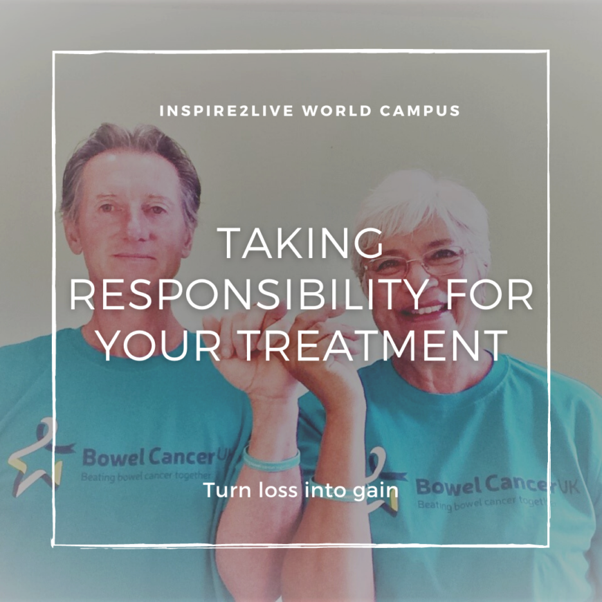Taking responsibility for your treatment
