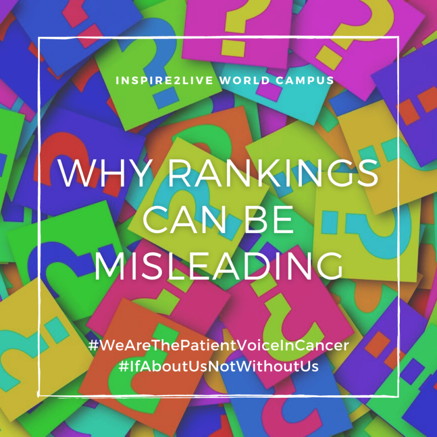 Why rankings can be misleading